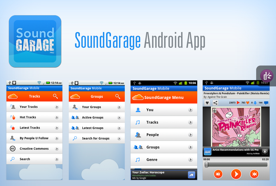 SoundGarage Android App